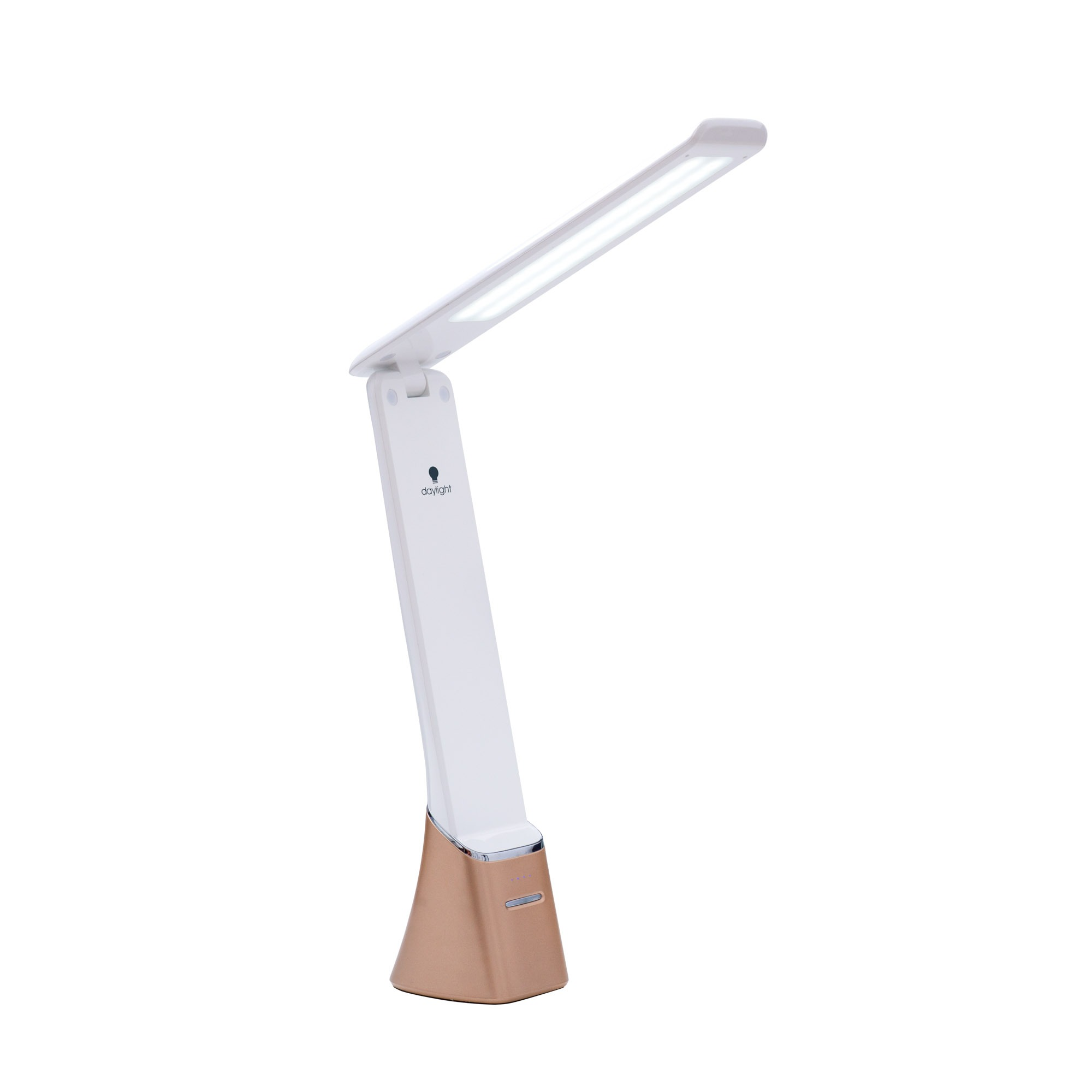 Click for larger version of Daylight Smart Lamp Series R10 Rechargeable LED Task Lamp - White