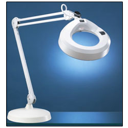 KFM Magnifier Lamp - 30-in Arm - 3 Diopter 1.75x Lens