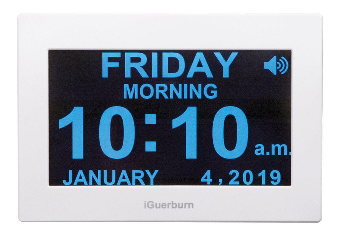 Talking Alarm Day Clock