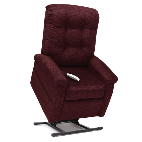 Pride Classic Collection 3 Position Recline Lift Chair - Black Cherry