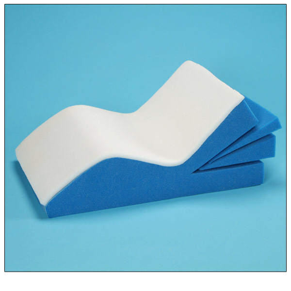 Adjustable Memory Foam Leg Support Wedge Cushion