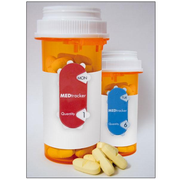 Med Tracker Dosage Manager - 2 Per Pack
