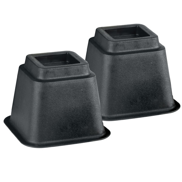 Bed and Chair Risers - One Pair - 6-inch