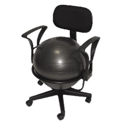Ball Chair - Black