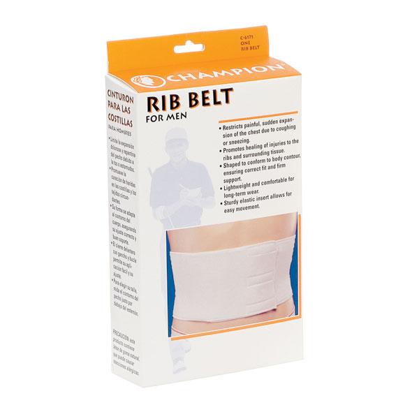 Rib Belt - Mens, Size X-Large