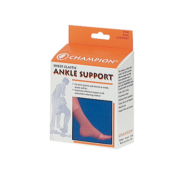Ankle Support, Size Medium Sheer