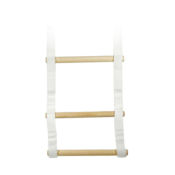 Bed Ladder with Acrylic Rungs- 48-in.