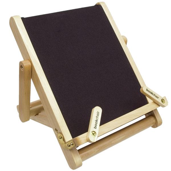 Medium Wooden Bookchair - Black