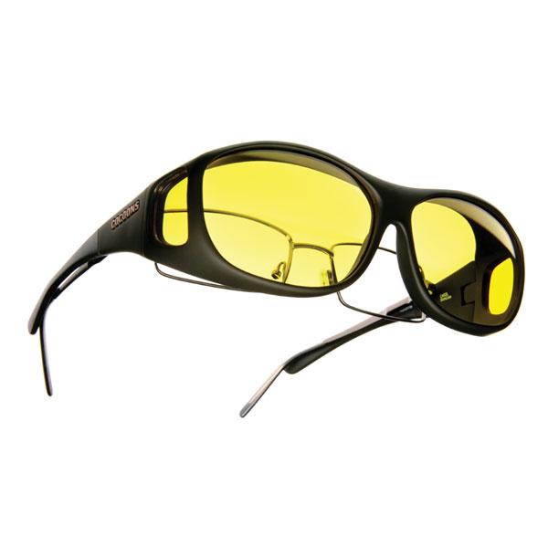 Cocoons Low Vision Slim Line M Sunglasses-Black-Lemon