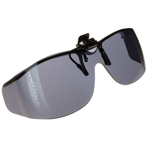 Cocoons Low Vision Sidekick M Flip-Up Sunglasses-Smoke