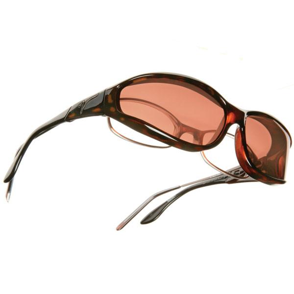 Vistana OveRx Sunglasses- Tortoise-Copper Lens-Sm