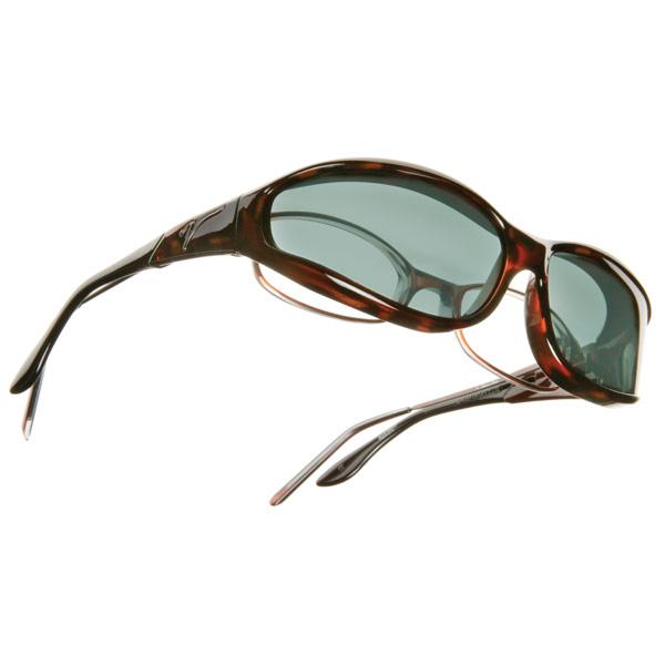 Vistana OveRx Sunglasses- Tortoise w-Gray Lens-Sm