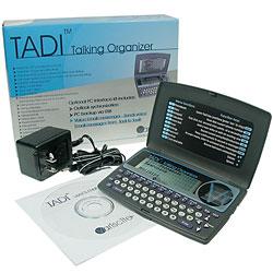TADI Talking Voice Organizer - French