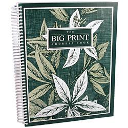The Big Print Address Book