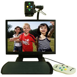 Aumax Desktop Video Magnifier with 22-in Monitor