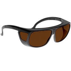Noir Spectra Shields Large Adjustable Fitover 10 Percent- Medium Amber