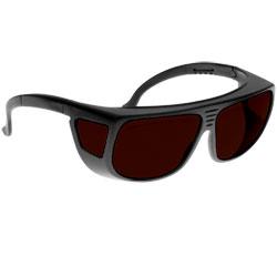 Noir Spectra Shields Medium Adjustable Fitover 3 Percent- Dark Amber
