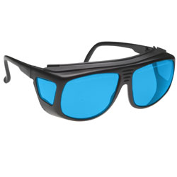 Noir Spectra Shields Small-Fitover 30 Percent Blue