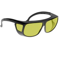 Noir Spectra Shields Medium Adjustable-Fitover 40 Percent Light Yellow