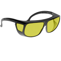 Noir Spectra Shields Large Adjustable Fitover 88 Percent- Light Yellow