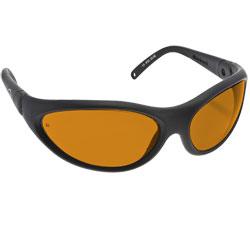 Noir Spectra Shields Wrap Around 49 Percent Orange