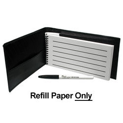 Refill for Reizen Pocket Low Vision Notebook-25-pk