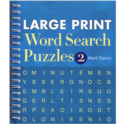 Large Print Word Search Puzzles- Number 2