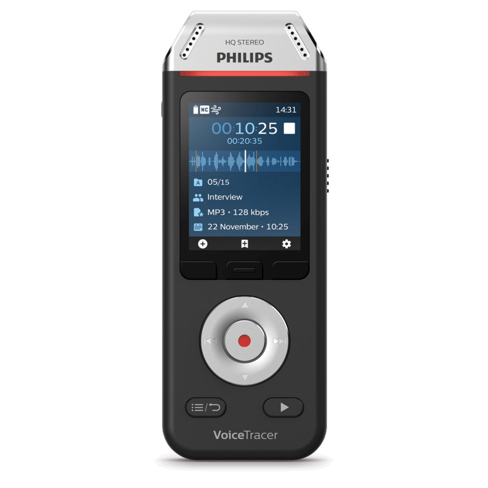 Voice Tracer Recorder w-Dragon Naturally Speaking