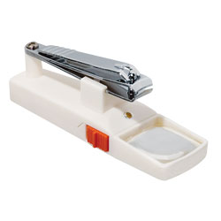 Nail Clipper with Magnifier and Light