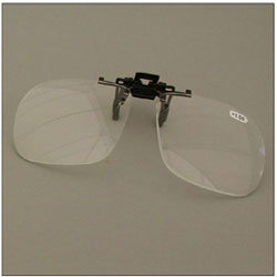Walters 2.5D Full Frame Clip-On Loupe Magnifier for Spectacle Lens