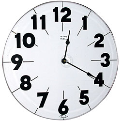 Super Low Vision Quartz Wall Clock