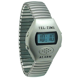Metallic Talking Watch - Oval Face-Unisex