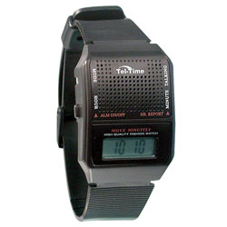 Tel-Time VII French Talking Watch