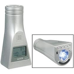 Reizen Talking Clock and LED Flashlight