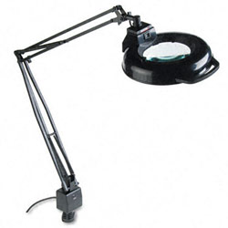 ELECTRIX 45-Inch Reach Magnifying Lamp