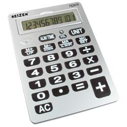Reizen 12-Digit Jumbo Talking Calculator