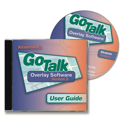 GoTalk Overlay Software v3.0- One CD