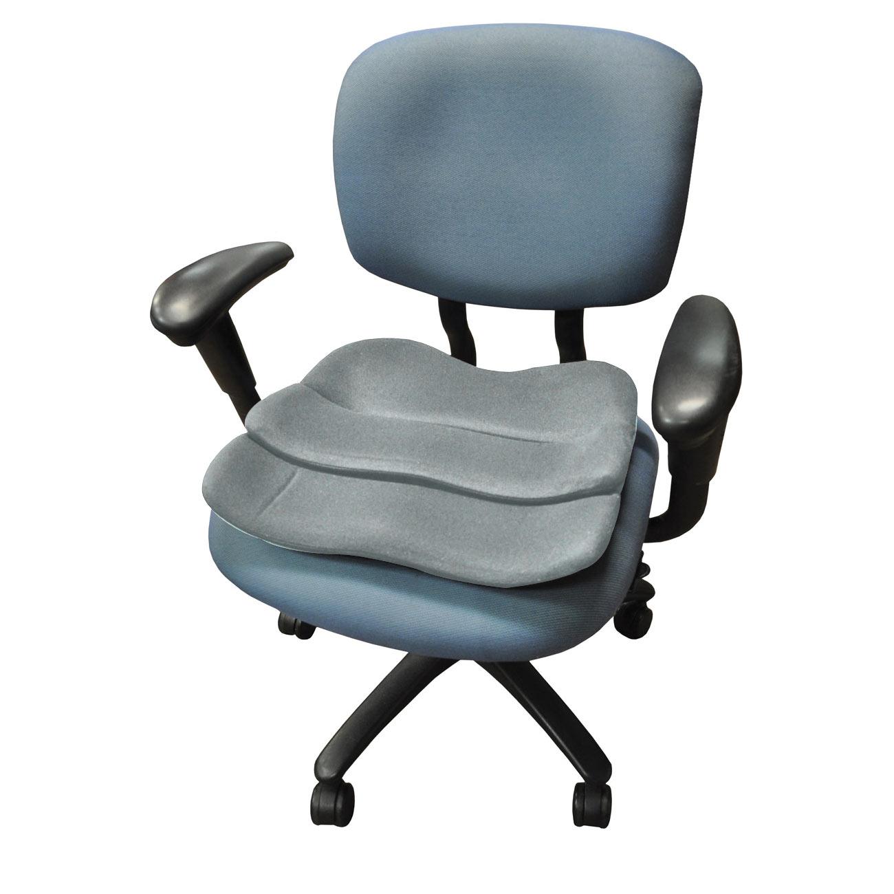 ObusForme Contoured Seat Cushion - Gray