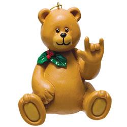 Boy Bear Holiday Ornament