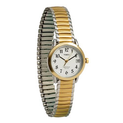 Timex Indiglo Watch Ladies Gold-Tone with Expansion Band