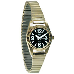 Tel-Time Low Vision Watch- Womens with Expansion Band