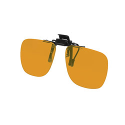 Noir Small Flip-Up Clip On Uv And Infrared 49 Percent Orange