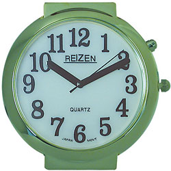 Reizen Watch - Illuminated White Dial with Black Numbers