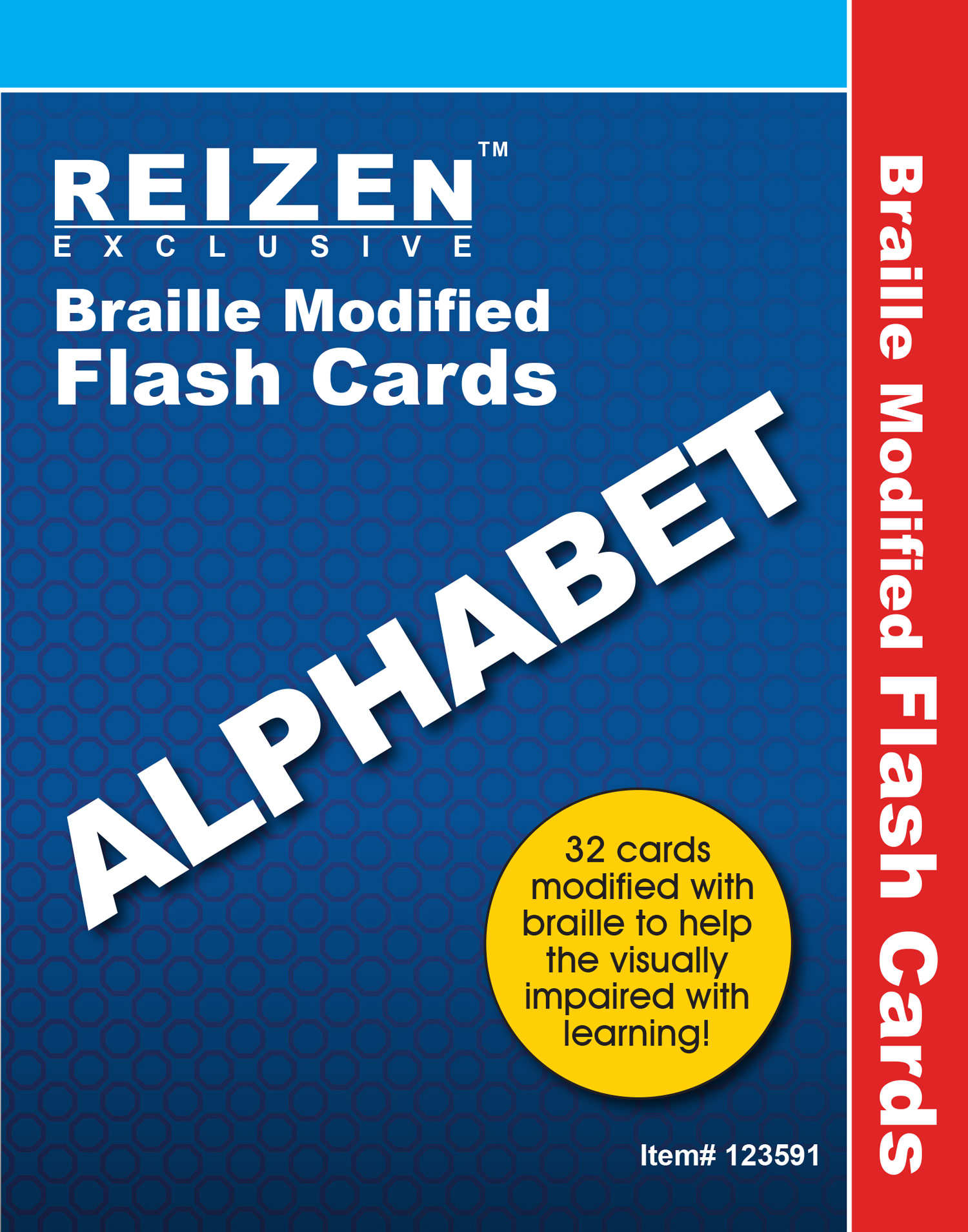Alphabet Flash Braille Cards