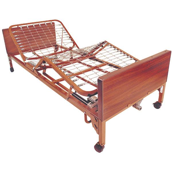 Full-Electric Twin Size Bed w-Full Side Rails-Pkg
