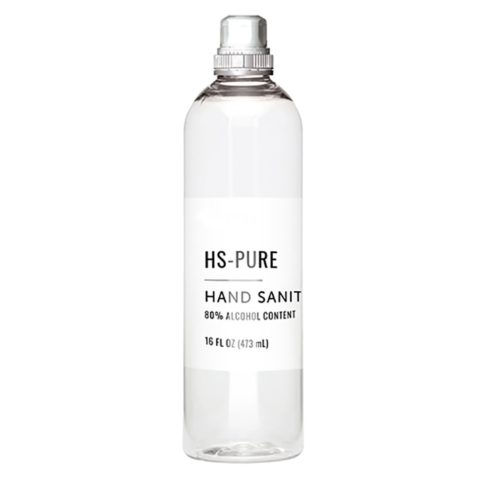 Pure HS -Hand Sanitizer 16 oz. Pull top