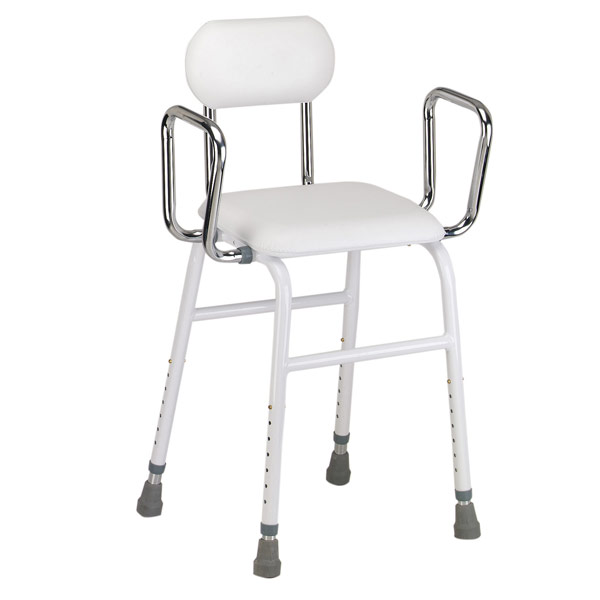 Kitchen Stool with Adjustable Arms