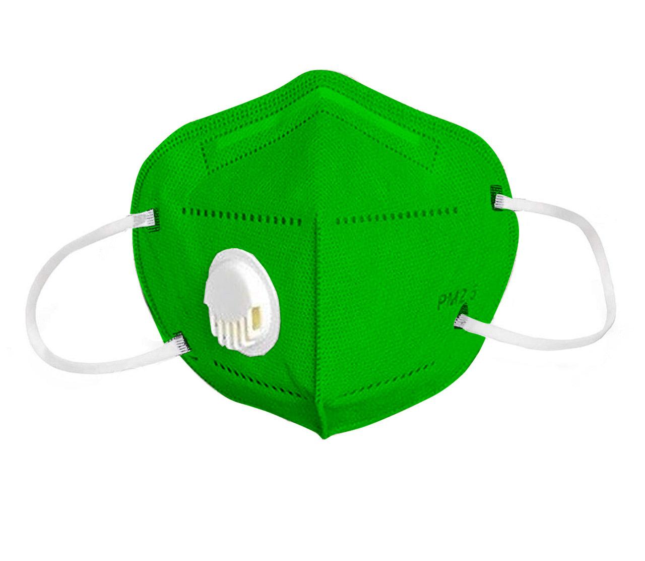 Reusable Face Mask green-2 pack