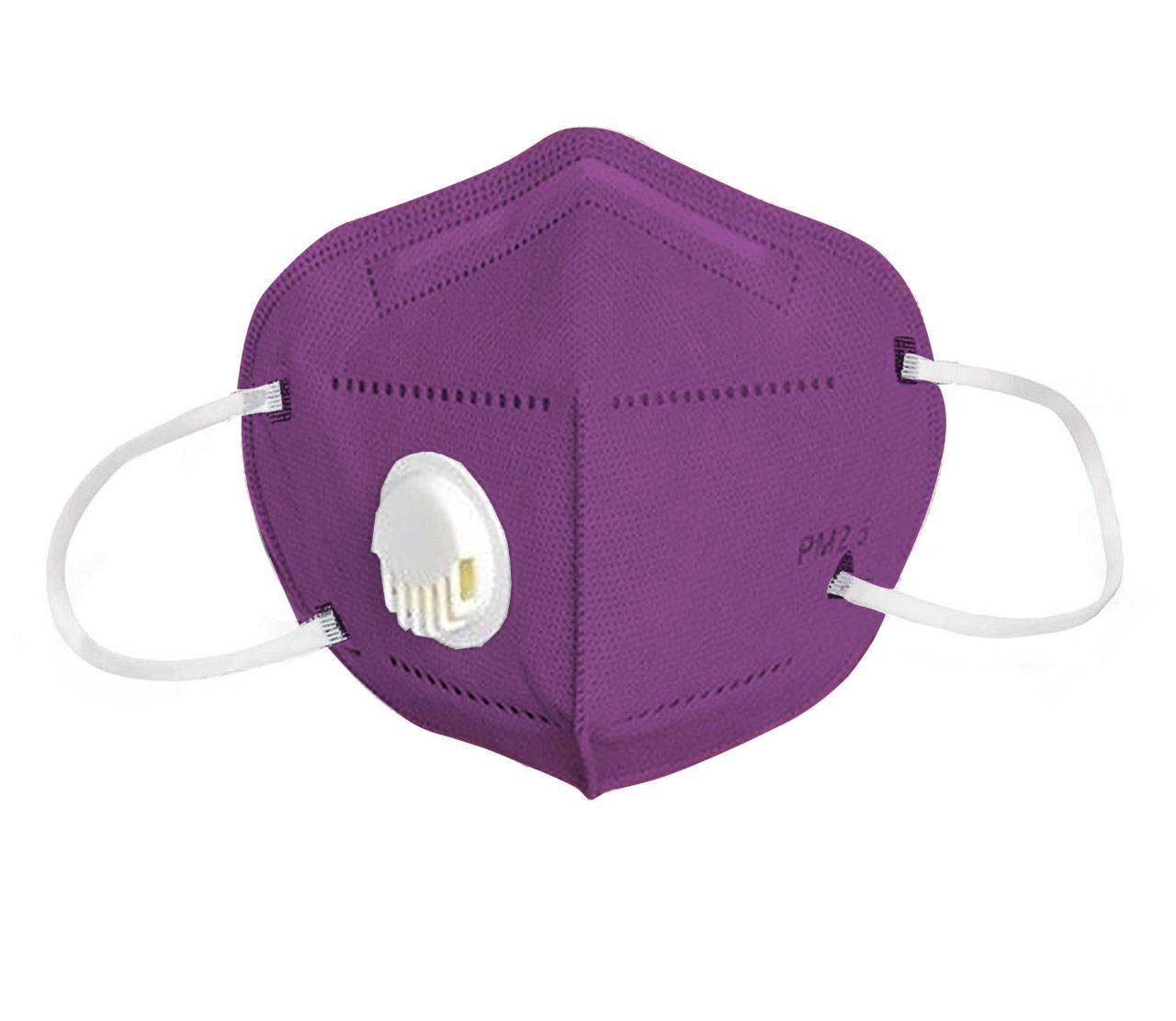 Reusable Face Mask Purple-2 pack