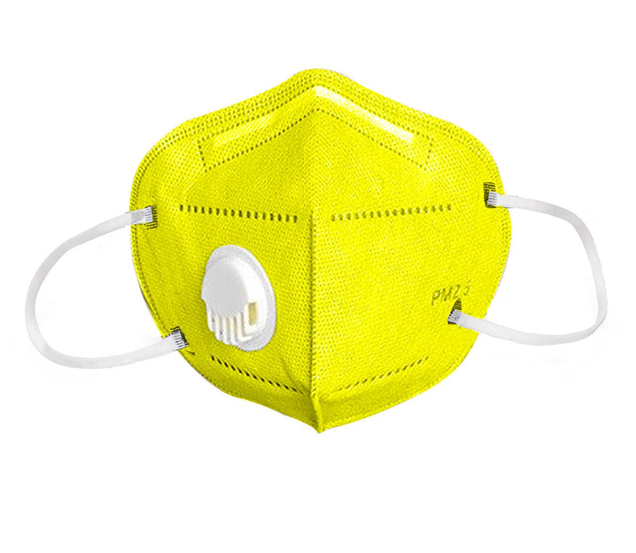 Reusable Face Mask yellow